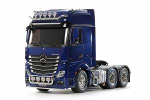 Tamiya 56354 Actros gigaspace 3363 6x4 truck kit - Pearl Blue